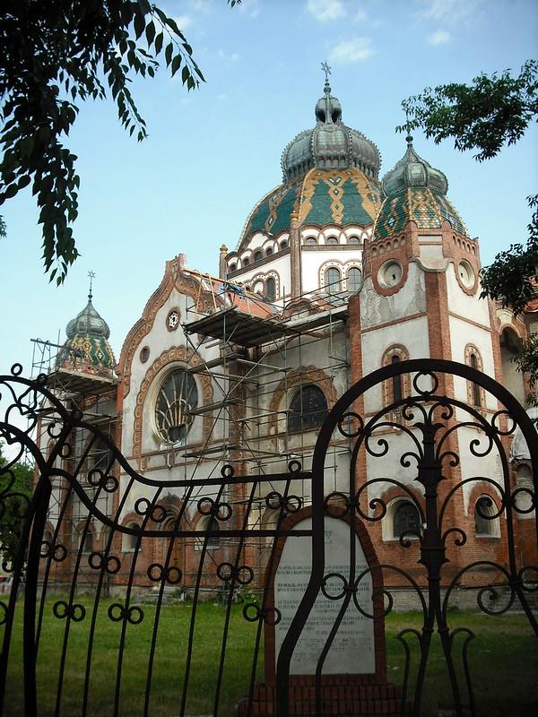 Art Nouveau synagogue in Subotica
