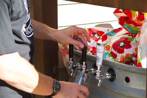 Outdoor Beer Dispensing
