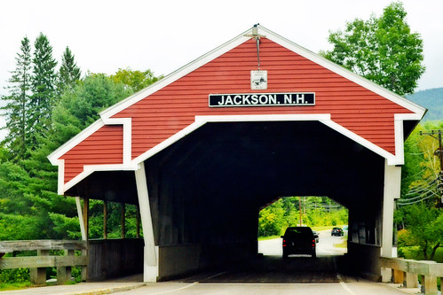 Covered Bridge in Jackson, NH by KAM918