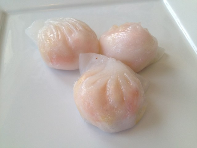 Shrimp dumplings - Good Luck Dim Sum