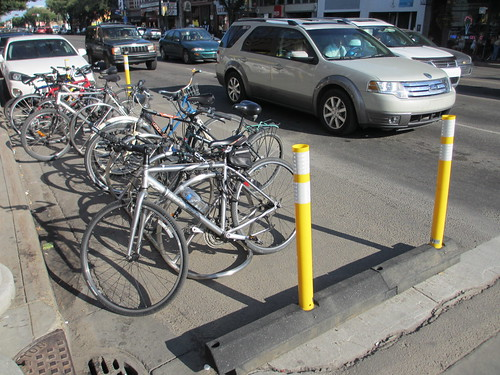 Bike Parking Corrals