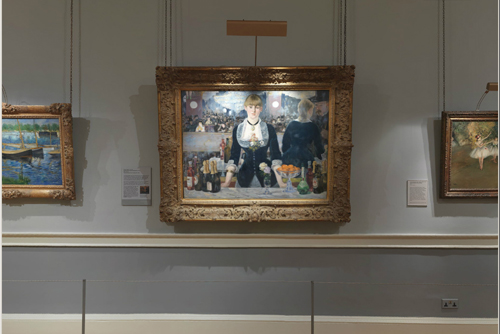 A Bar at the Folies-Bergère, 1881-2, Edouard Manet, The Courtauld Gallery, London - 500