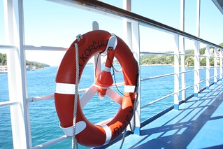 Ferry to Korcula, Croacia