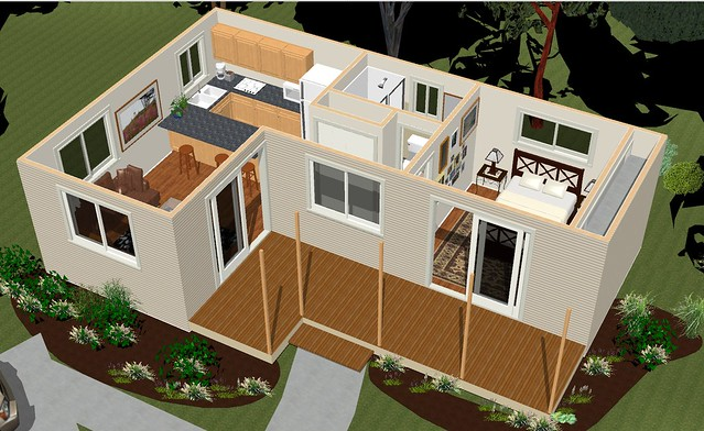 House plans eb02 45m2 rosemary house dimensions 10 for 45m2 apartment design