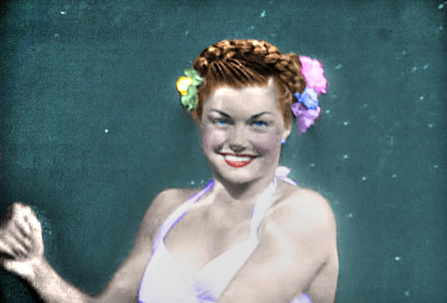 Though Often Underwater, Movie Star Esther Williams was Always Smiling Through