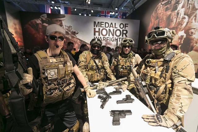 Soldats de Medal of Honor Warfighter