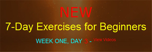 NEW!!! 7-Day Exercises for Beginners: WEEK ONE, DAY 3 / Fixes for Jiggles.