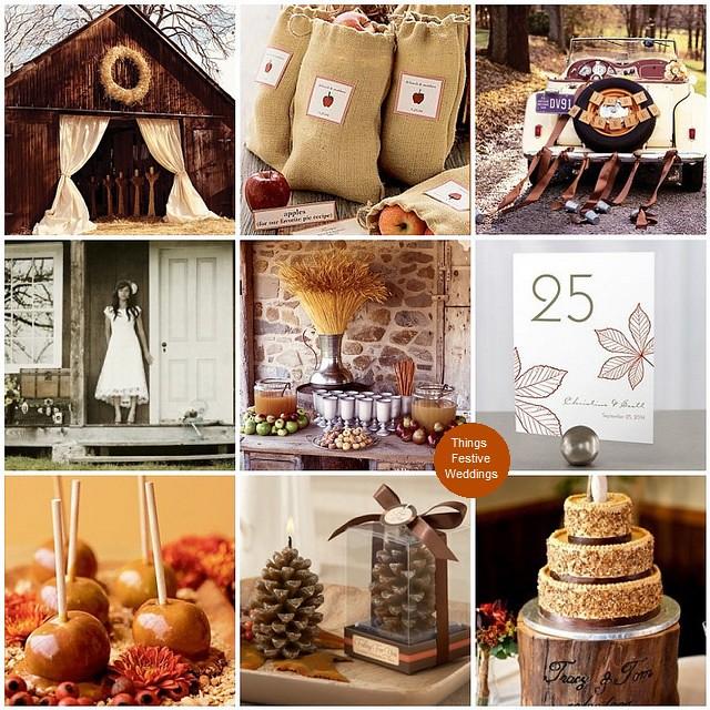 Rustic Fall Wedding Theme