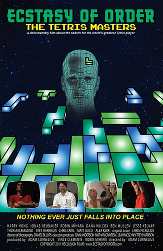 Ecstasy of Order The Tetris Masters poster