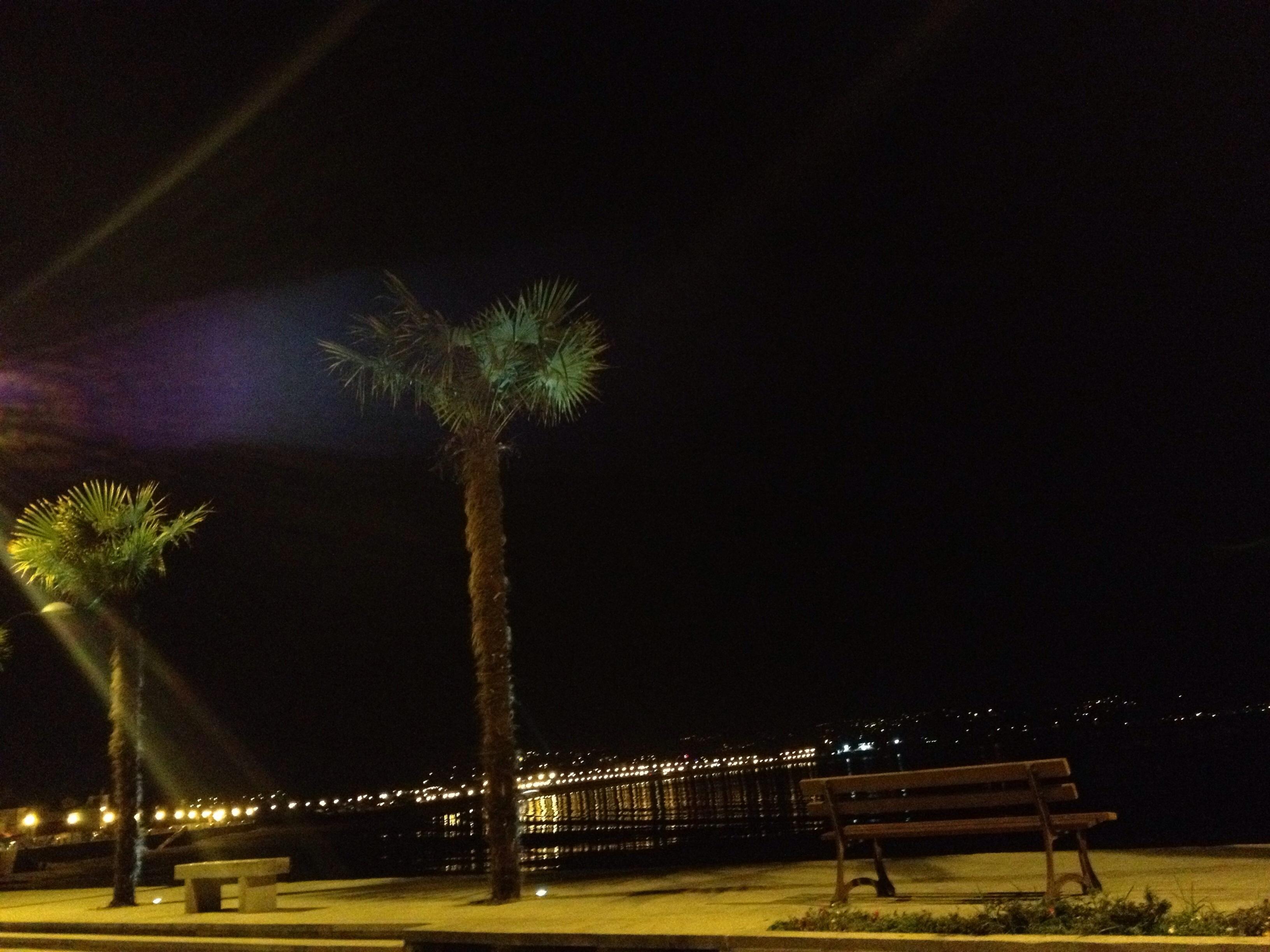 Noche de reflejos