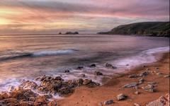 [フリー画像素材] 自然風景, 海, ビーチ・海岸, 朝焼け・夕焼け ID:201208272000