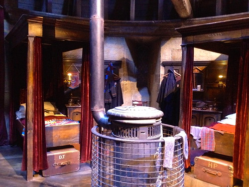 Gryffindor Boy's Dormitory