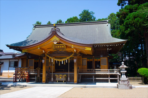 Santuario Suwa de Kitakami