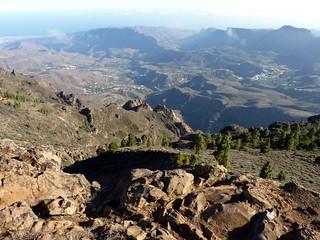 Gran Canaria - San Bartolome de Tirajana Seen from Pozo de las Nieves
