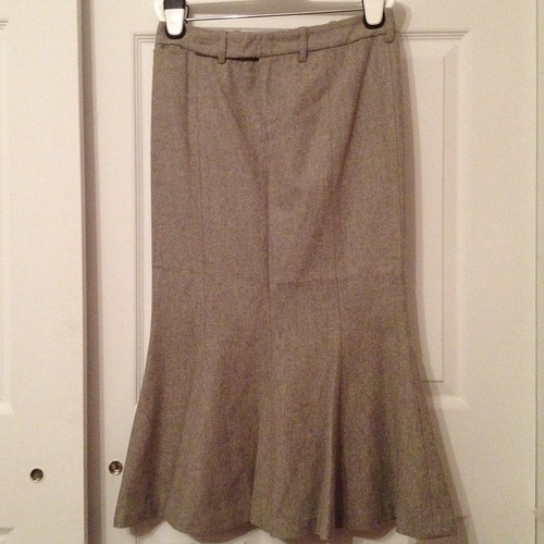 Ralph Lauren gray wool skirt from tag sale in Woodbury