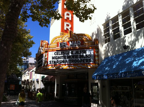 del mar theater in Santa Cruz