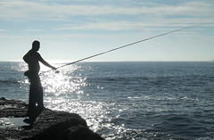 fishing, sea, recreation, casting fishing, outdoor recreation, recreational fishing, surf fishing, fisherman,