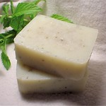 Spearmint & Aloe - handmade cold process soap