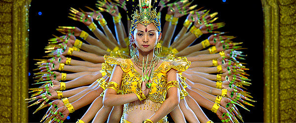 Just one of countless arresting images in SAMSARA.