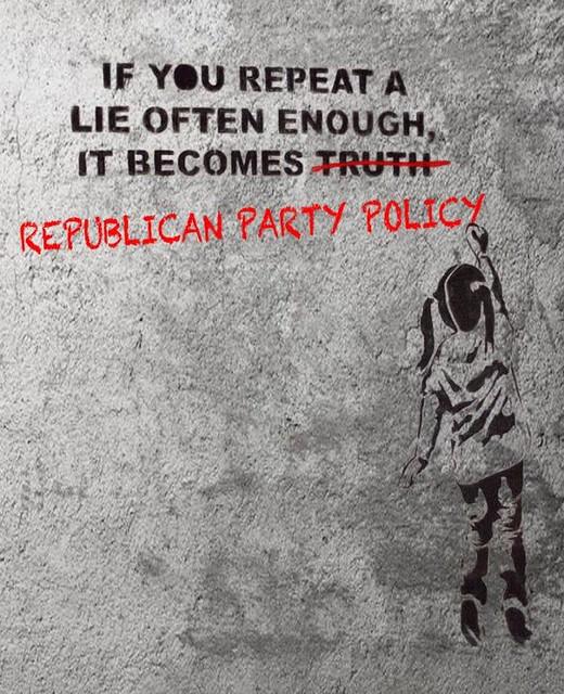 republicans lie