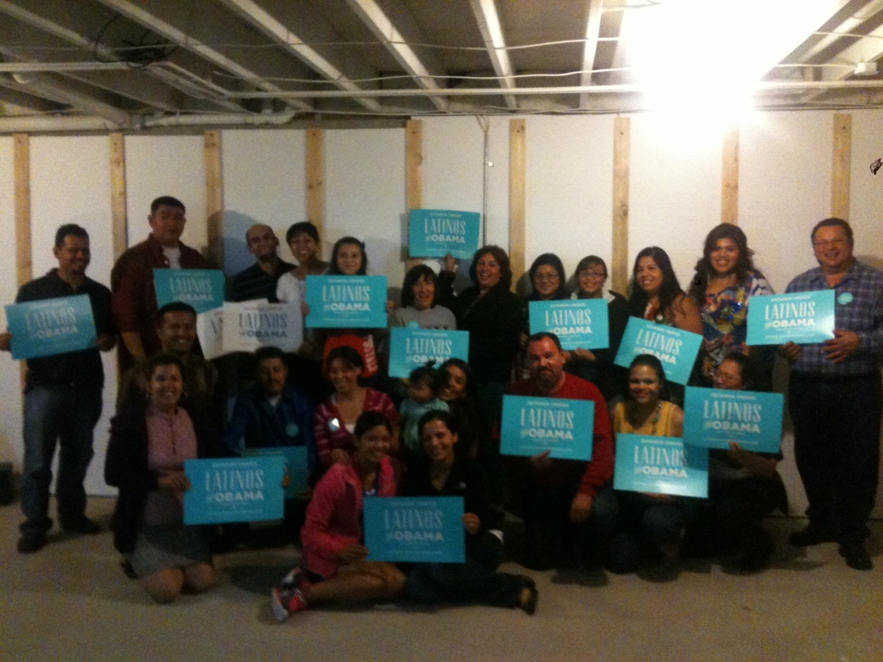 Latinos For Obama House Party