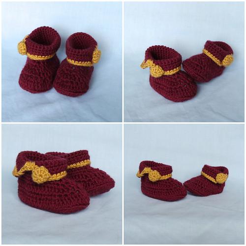 More crochet booties