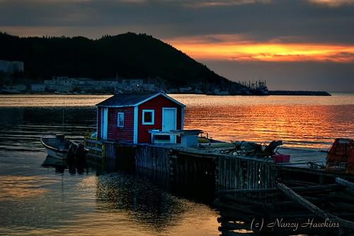 Gentle Sunset by Nancy Hawkins
