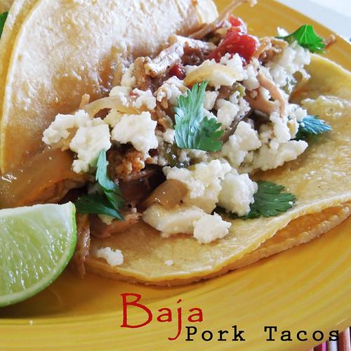 Baja Pork Tacos Text
