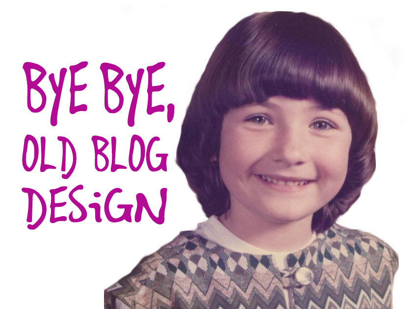 2012-09-02 Bye Bye Old Blog Design