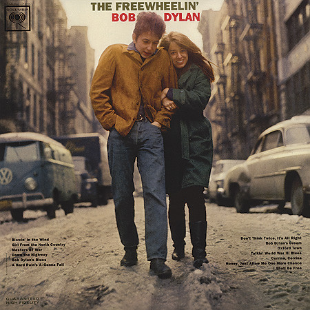 The Freewheelin' Bob Dylan LP (1963)