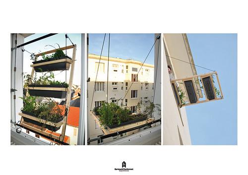 Окно в природу из Парижа - садоводство для горожан по версии Barreau & Charbonnet