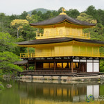 Kinkaku-ji Zen Temple (Golden Pavillion)  - Kyoto, Japan