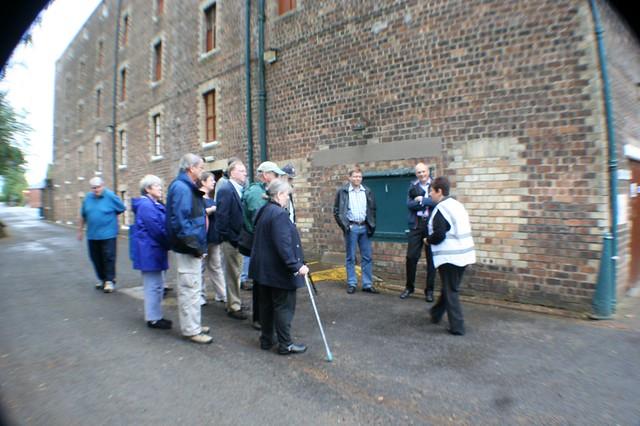 Tour Group, Glenkinchie Distillery
