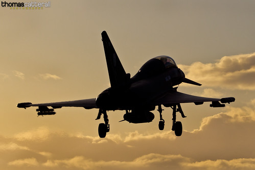 RAF 29(R) Sqn Eurofighter Typhoon T3
