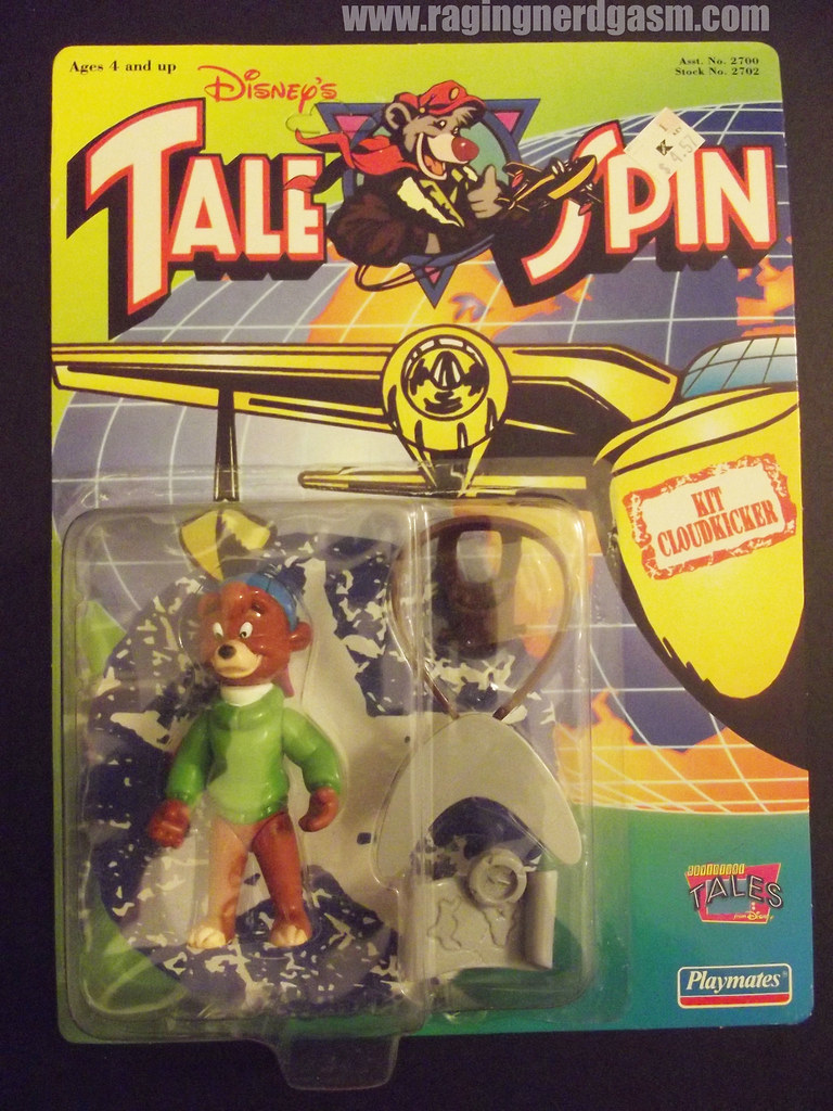 Dysney's Tale Spin Action Figures by Playmates 1991 009