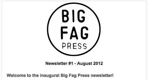 big fag newsletter