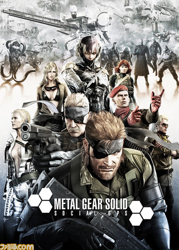 Metal Gear Solid: Social Ops Announced at Anniversary Event