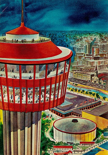 Tower Of The Americas 1968 Flickr Photo Sharing