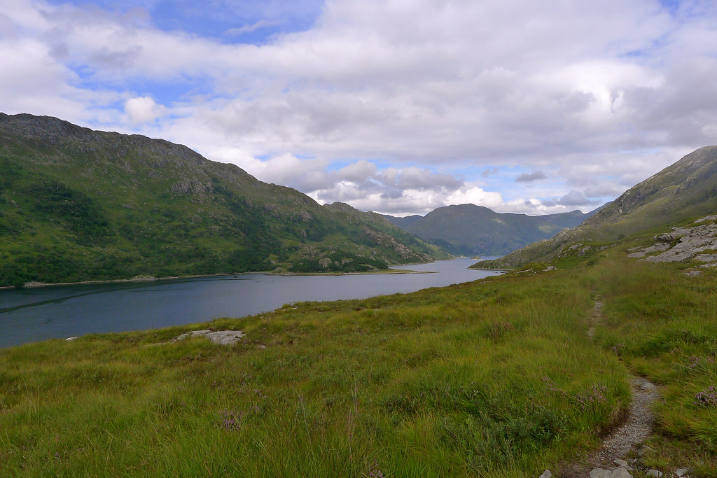 The path to Kinlochhourn