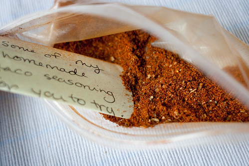 Stephanie's homemade taco seasoning