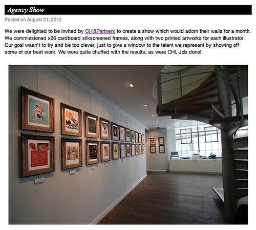 Agency Show by www.sandradieckmann.com