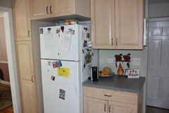 Before Photos of Kitchen