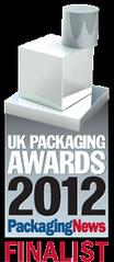 Packaging News Finalist Badge