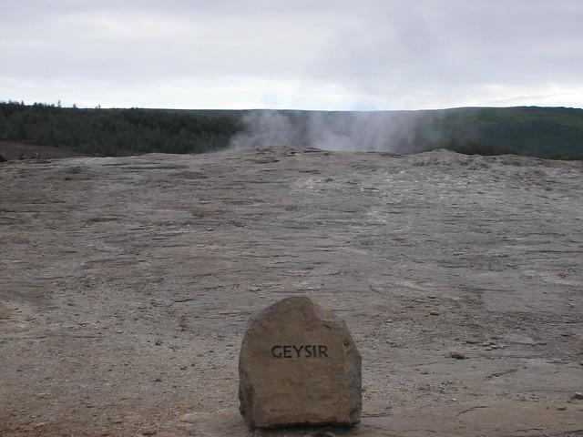 Geysir Islandia Iceland