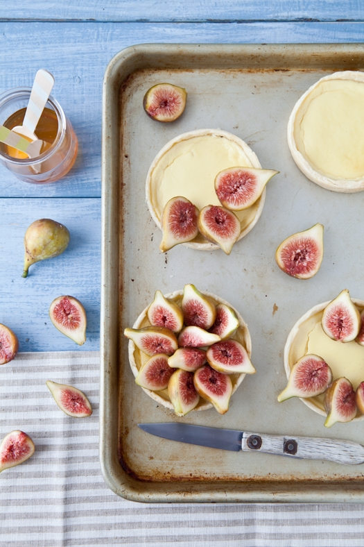 Fig & Goat Cheese Tarts