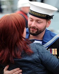 Royal Navy Sailor is Welcomed Home Following Deployment