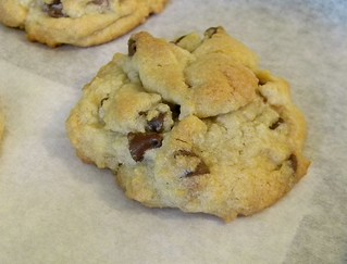 Gluten Free Chocolate Chip and Peanut Butter Cup Cookies