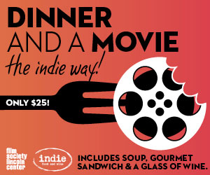 indie dinner and a movie
