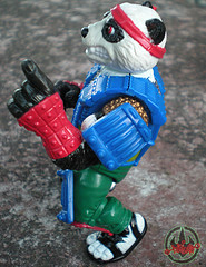 TEENAGE MUTANT NINJA TURTLES :: PANDA KHAN / SCRAMBLED VARIANT xii (( 1990 ))