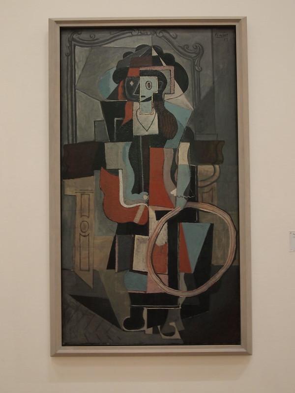 Pablo Picasso - Filette au cerceau
